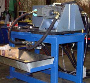 Hydraulic pump test stand hydraulic test stand Hydraulic motor testing