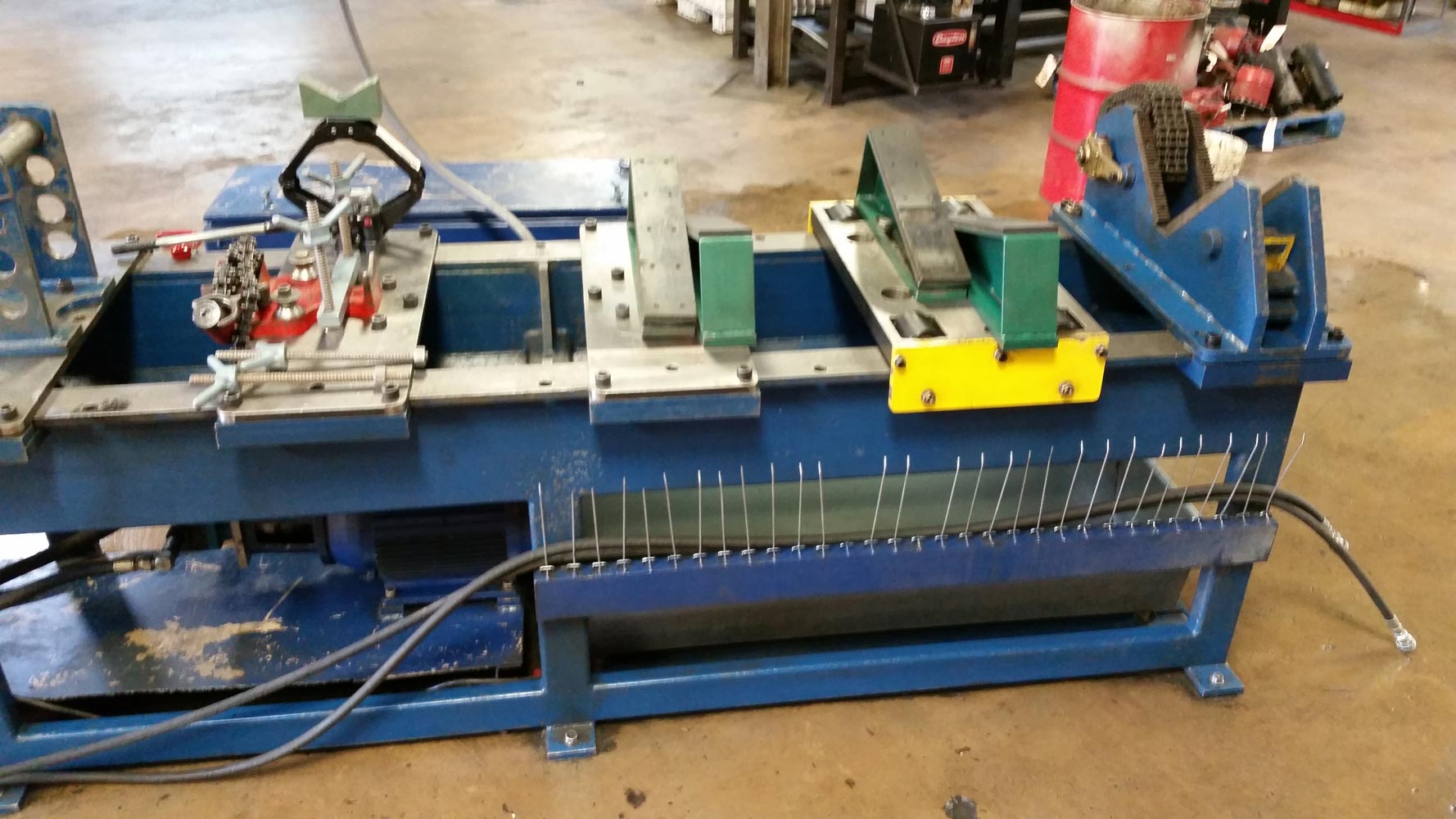 replacement of machinery Reed machinery, inc is a manufacturer of cold forming and thread rolling  machines,  flat die, planetary, attachments, automation & replacement parts.