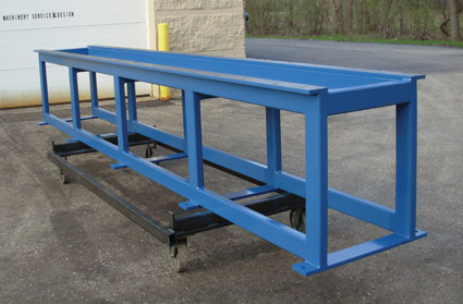 Hydraulic Cylinder Disassembly Table | Disassembly Bench | Cylinder